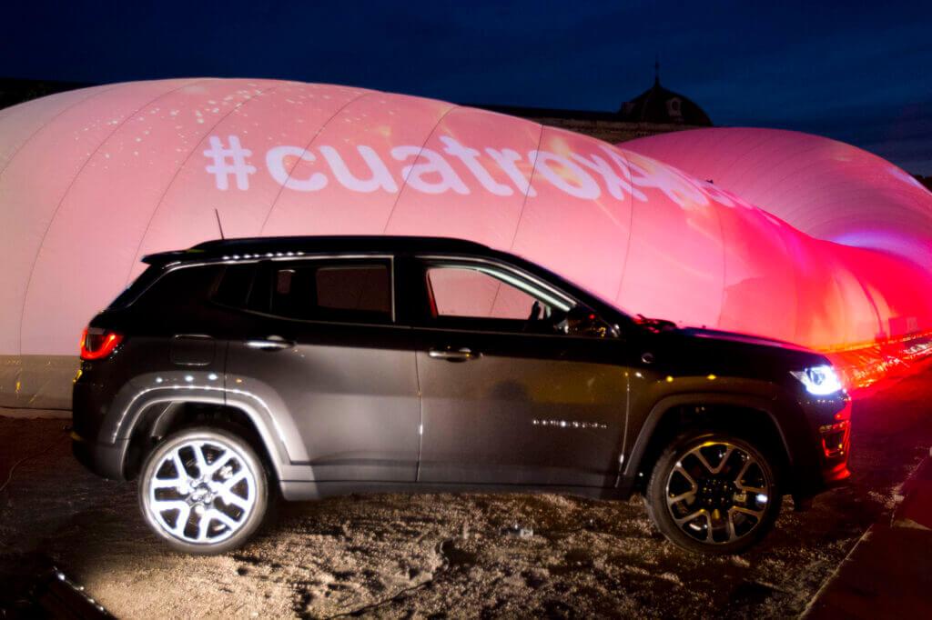 Cuatro regresa a la Plaza de Colón con la Jeepster Party, evento de presentación de su programación para la temporada 2017-2018.