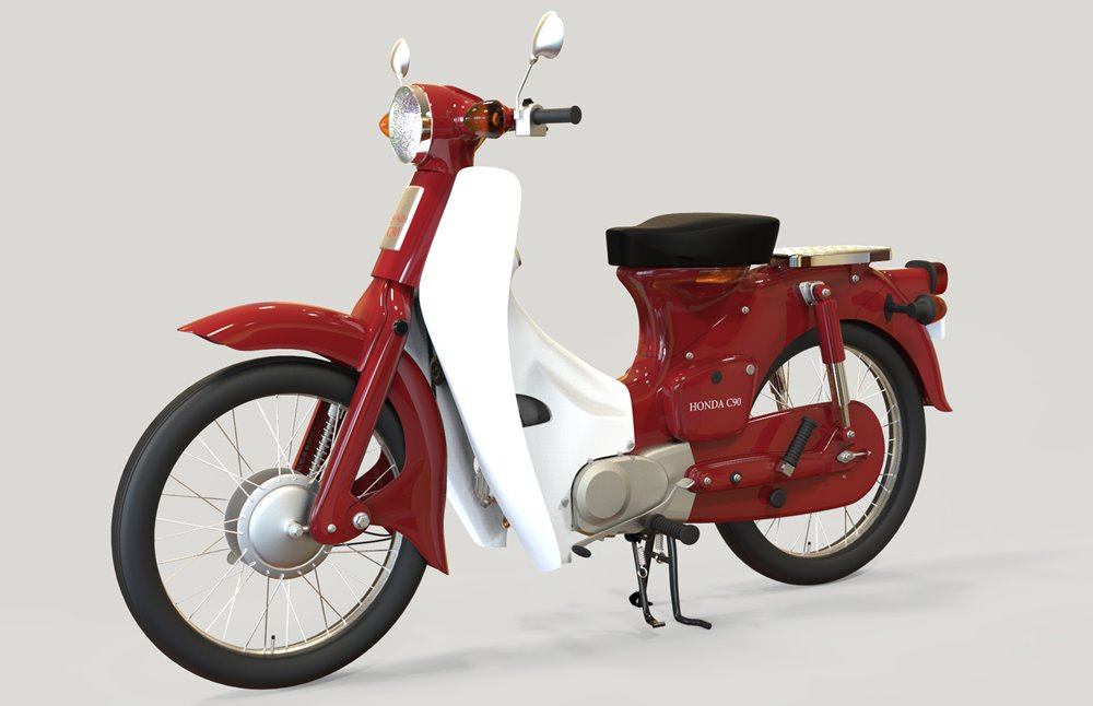 1966_HondaC90_Cub_gjautomotive