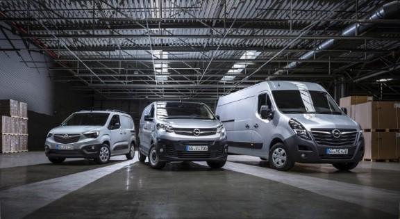 2019 Opel LCV Lineup