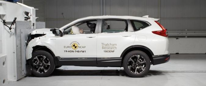 New Honda CR-V scores five stars in Euro NCAP assessment