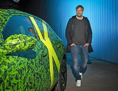 Jürgen Klopp ya ha conducido el Nuevo Opel Mokka